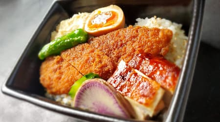 福味鶏ササミカツ丼